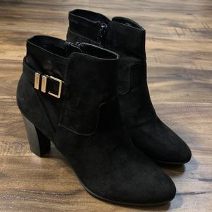 Black Kelly&Katie Heeled Boots